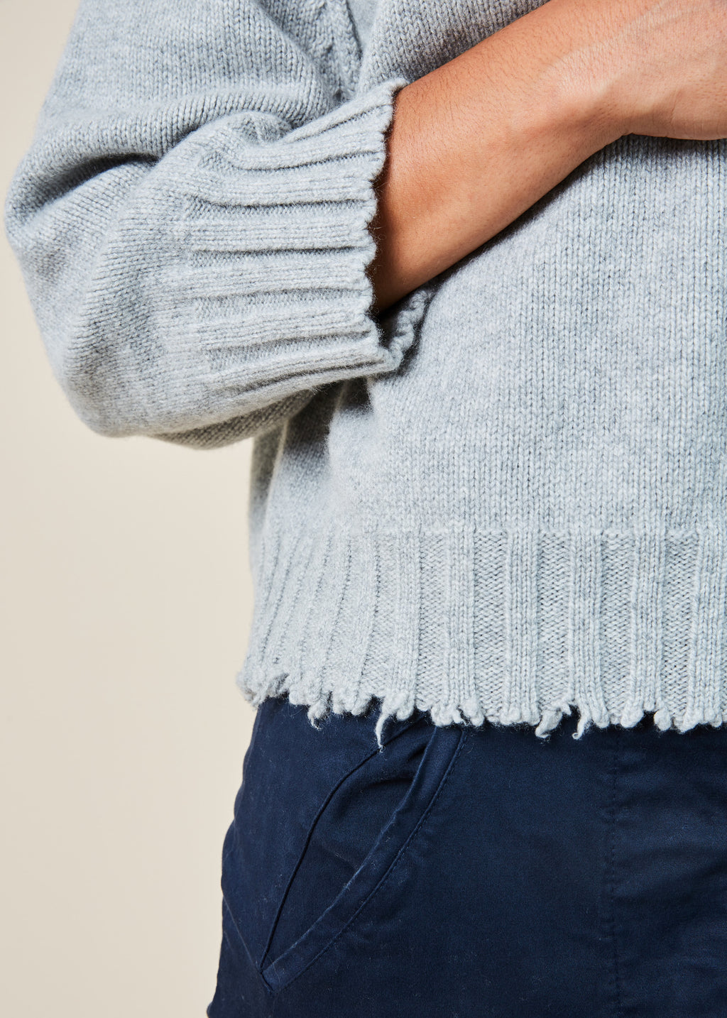 Petra Cropped Pullover