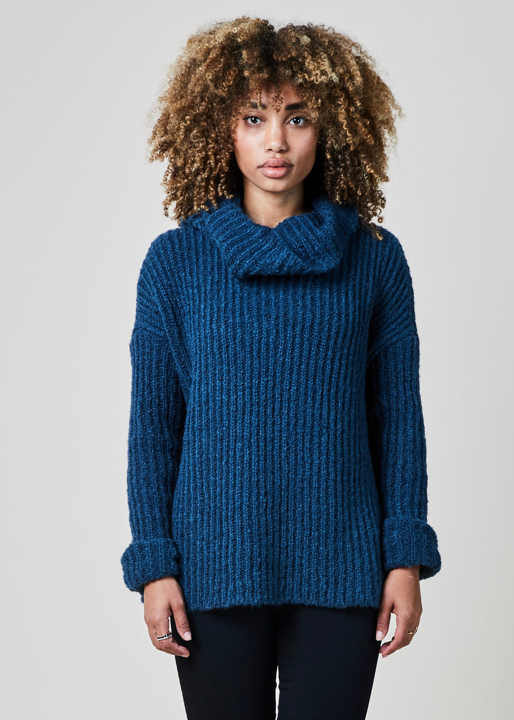 Troy Cowl Neck Sweater
