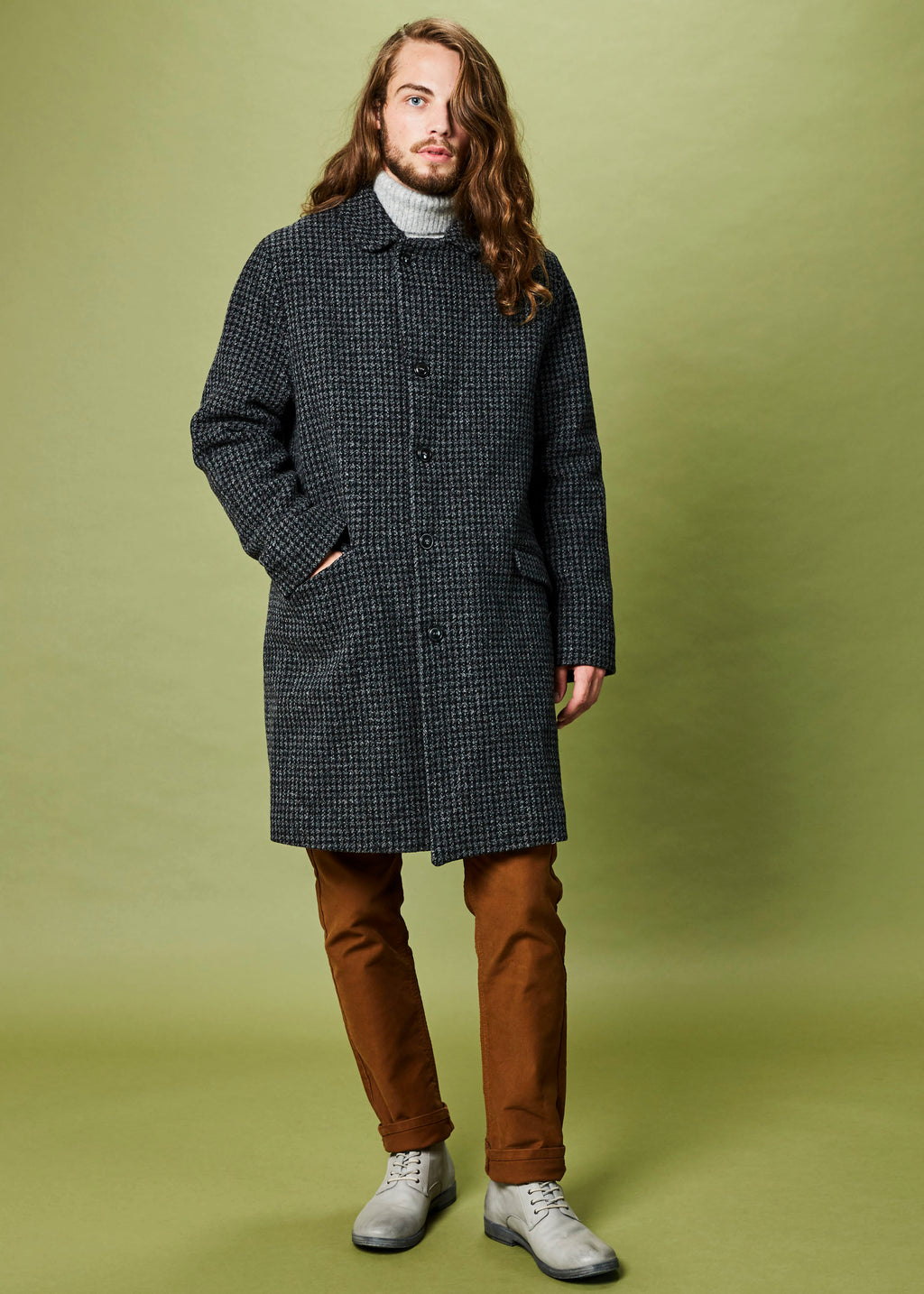 Houndstooth Steve Coat