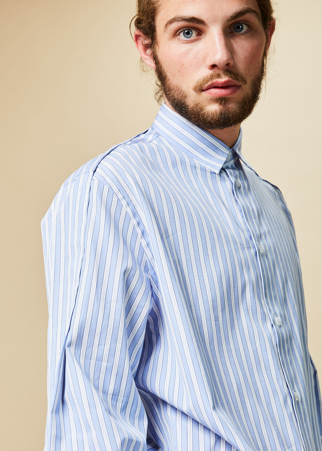 Striped Fold Shirt