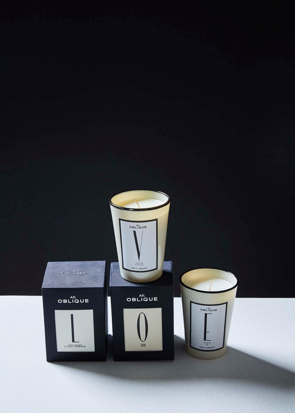 Alphabet Collection Candle