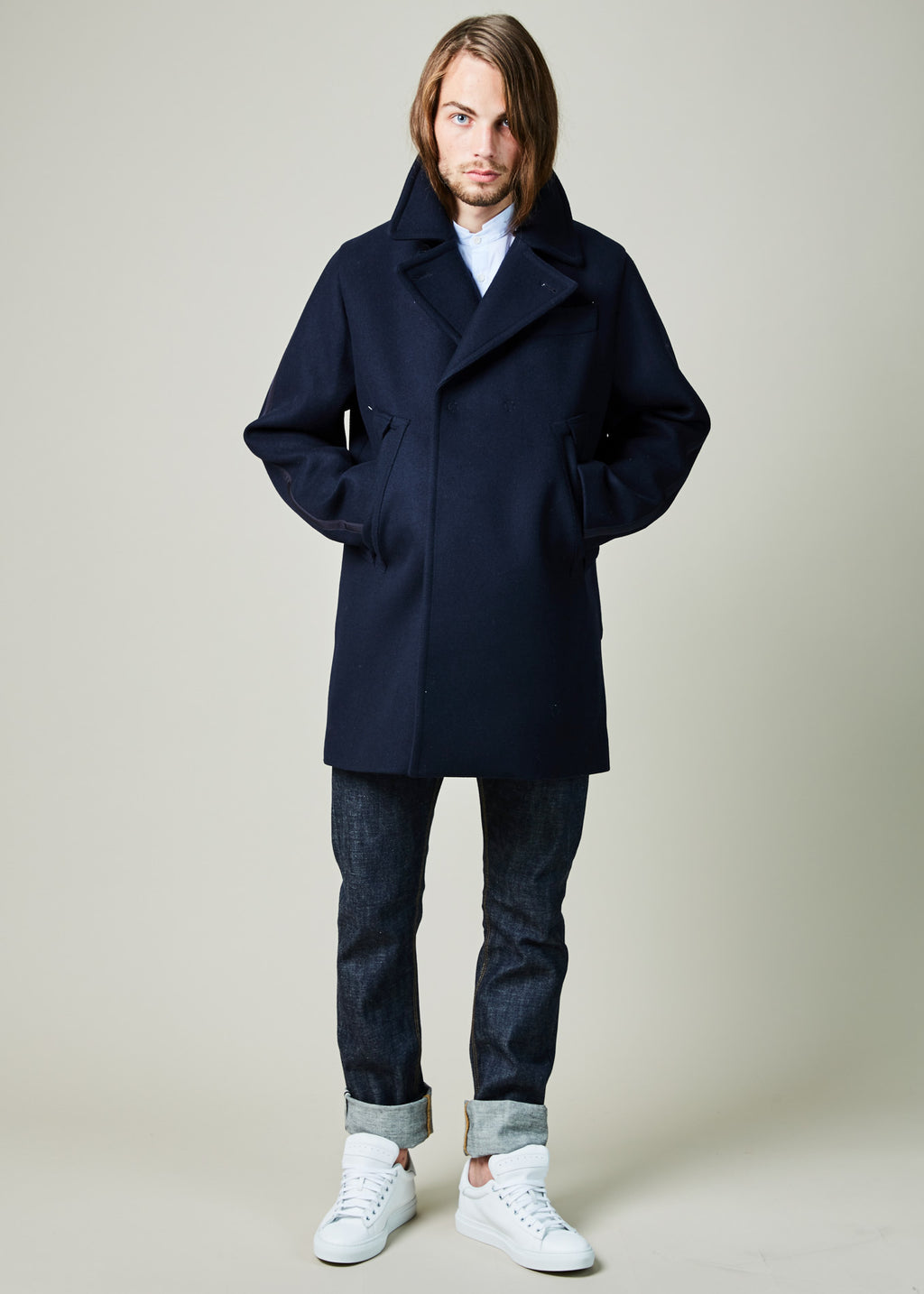 Felted Peacoat