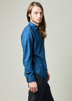Slim Fit Wool Blend Shirt