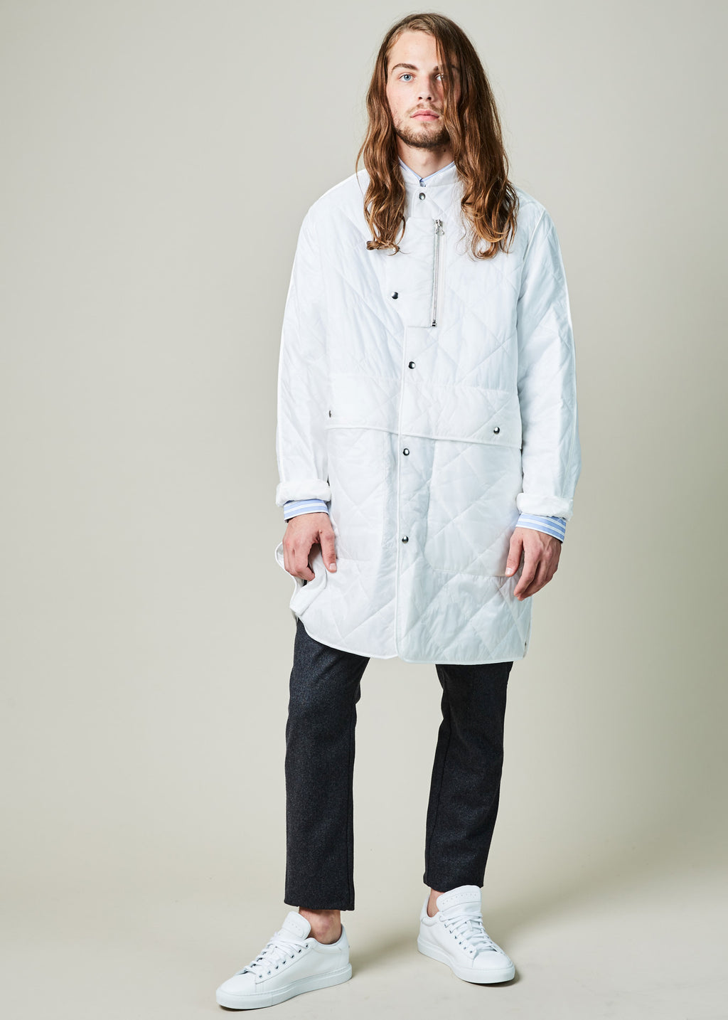 OAMC Quilted Squad Coat