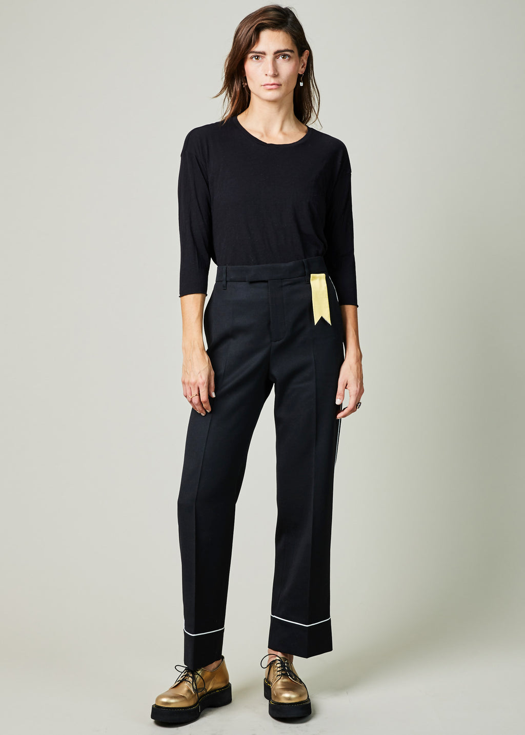 Teresa Piped Cuff Trouser