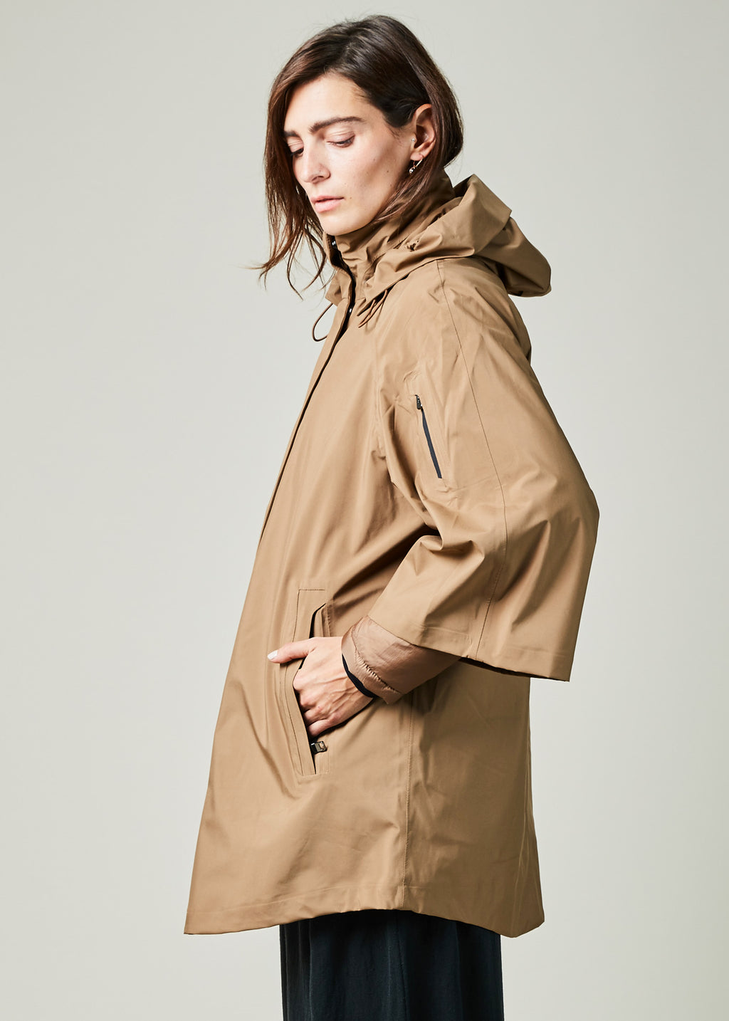 Nova Crop Sleeve Coat