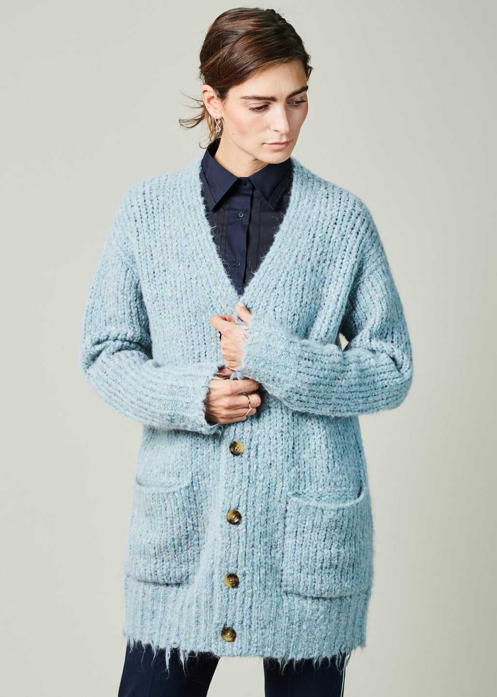 Knit Grandpa Cardigan