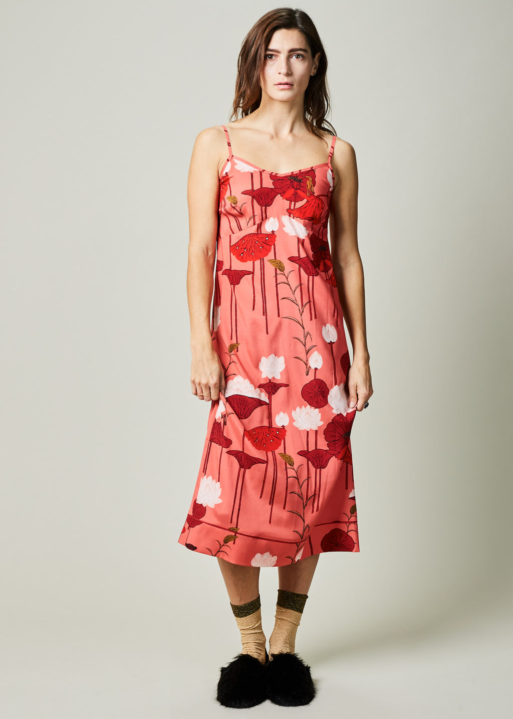 Lotus Flower Slipdress