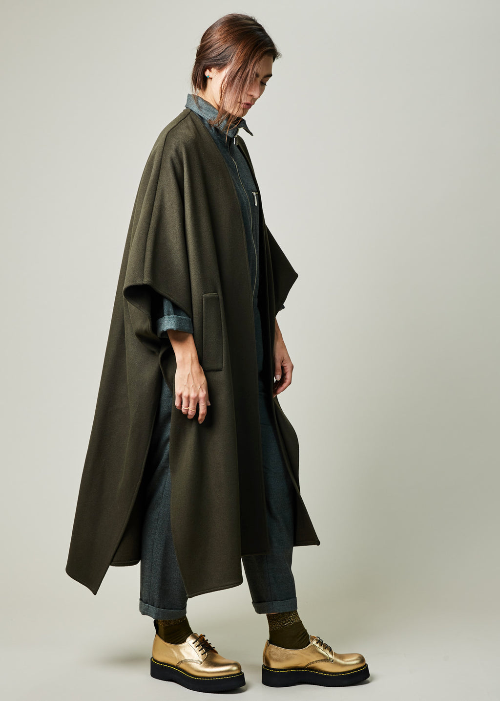 Chabrol Cape Coat