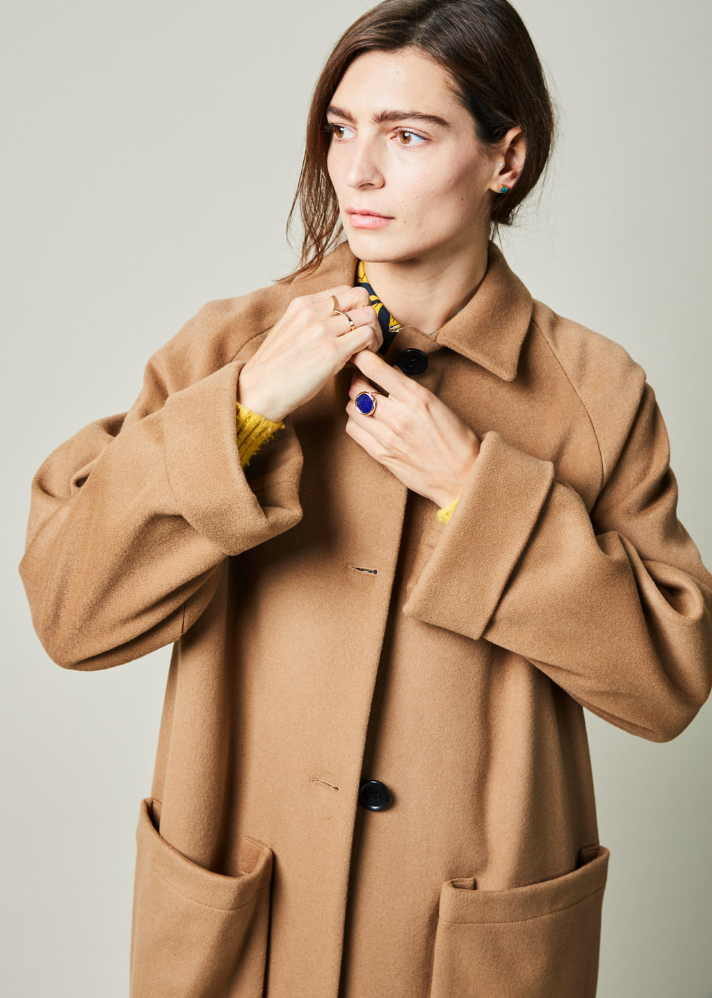 Astor Cuff Sleeve Coat