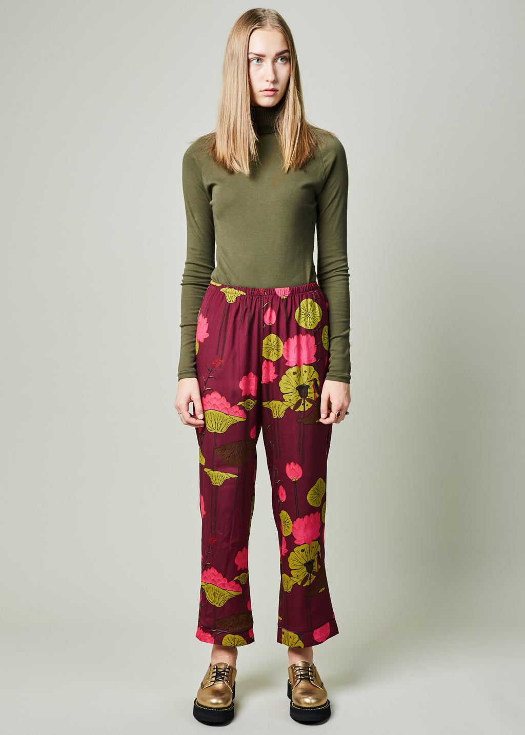 Lotus Flower Pajama Pant