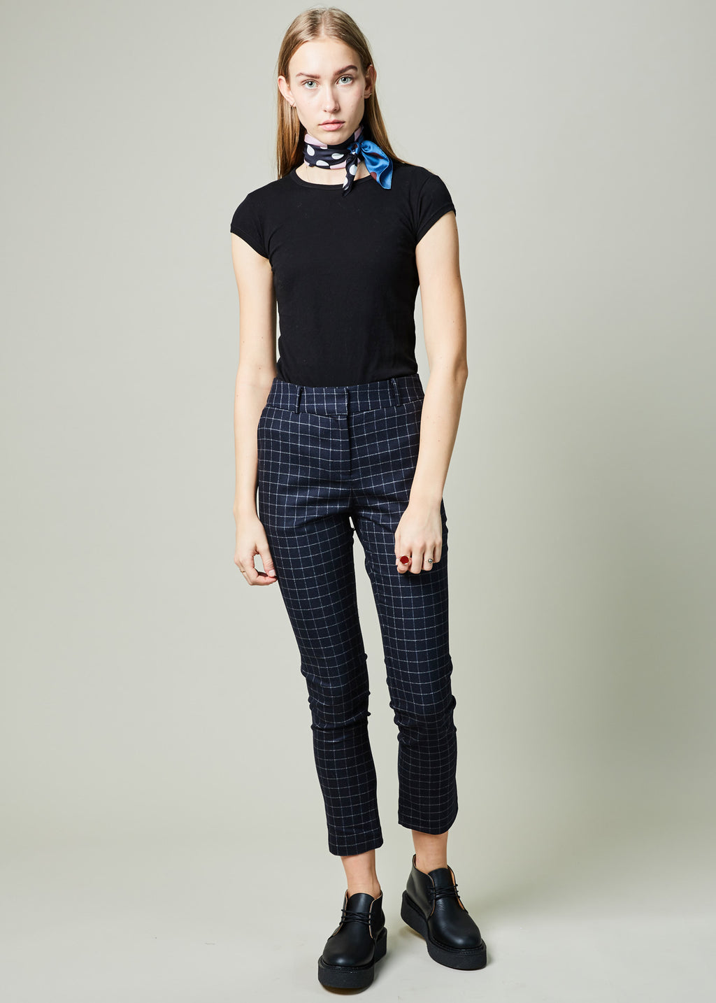Wilson Windowpane Check Pant