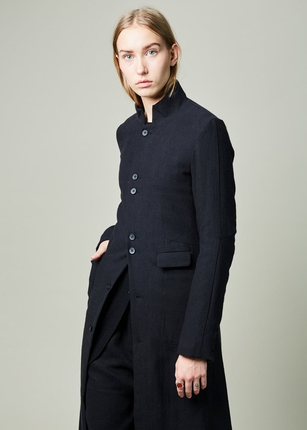 Ankle Length Coat