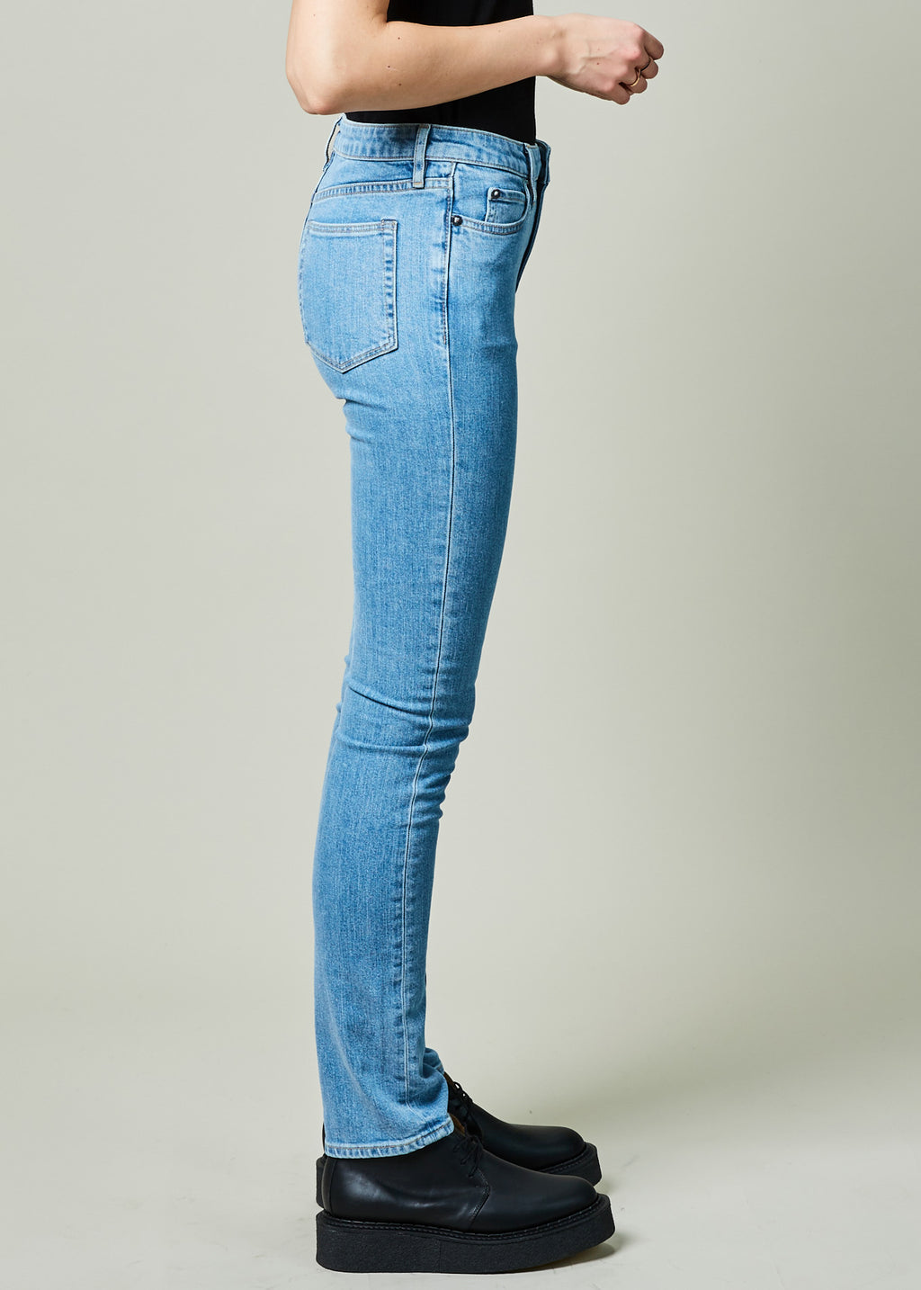 fdb57afec Holt Mid Rise Jean in Mid Indigo Wash by Simon Miller | Womens ...