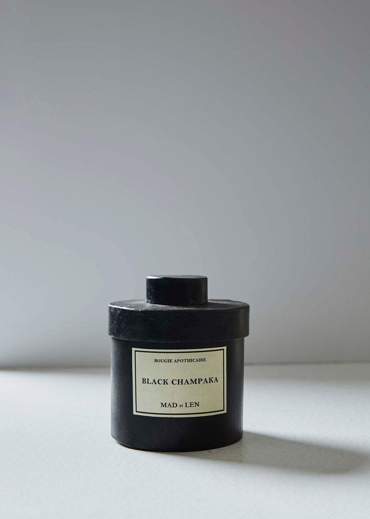 Bougie Apothecare Black Champaka Candle