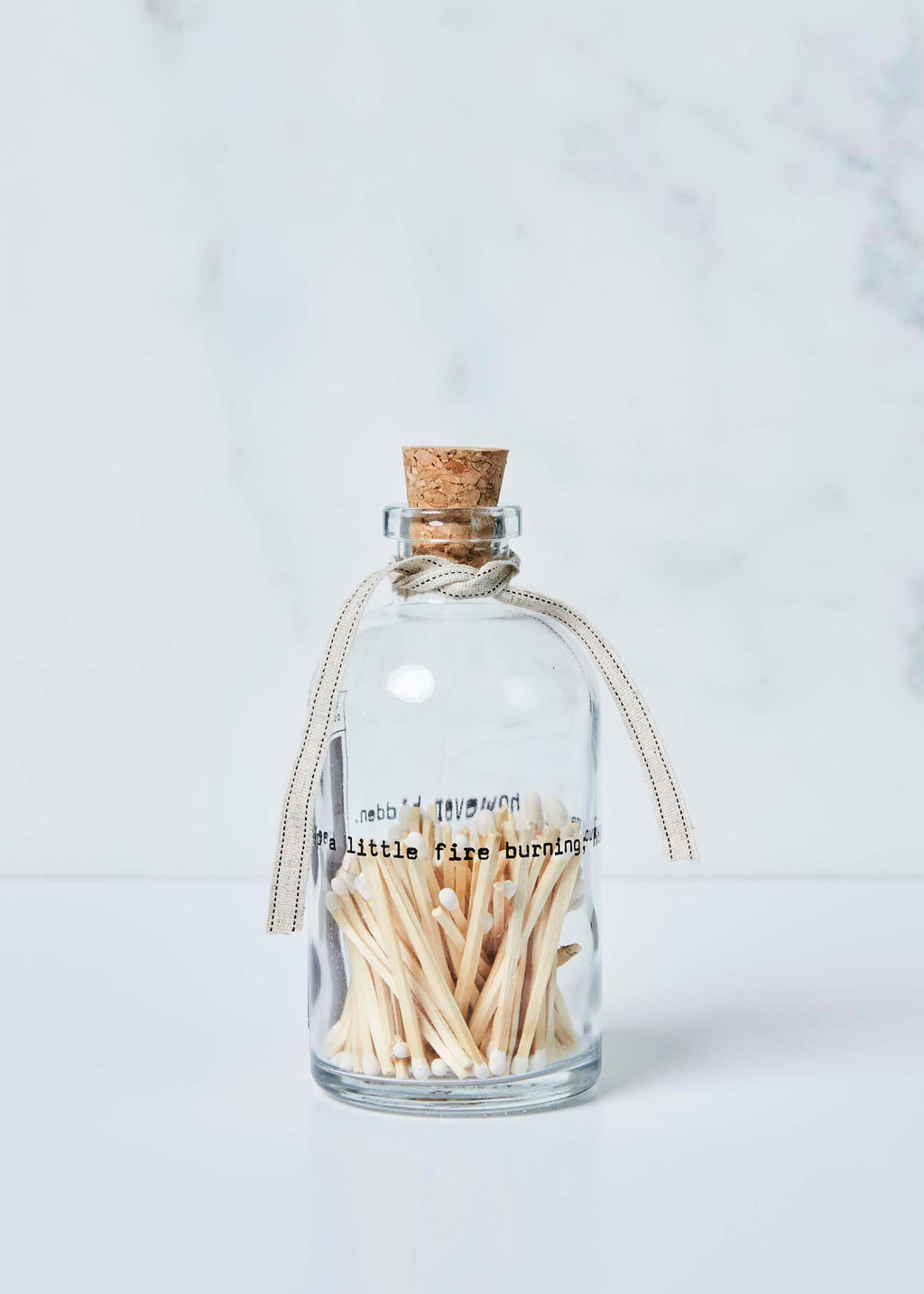 Small Apothecary Match Bottle