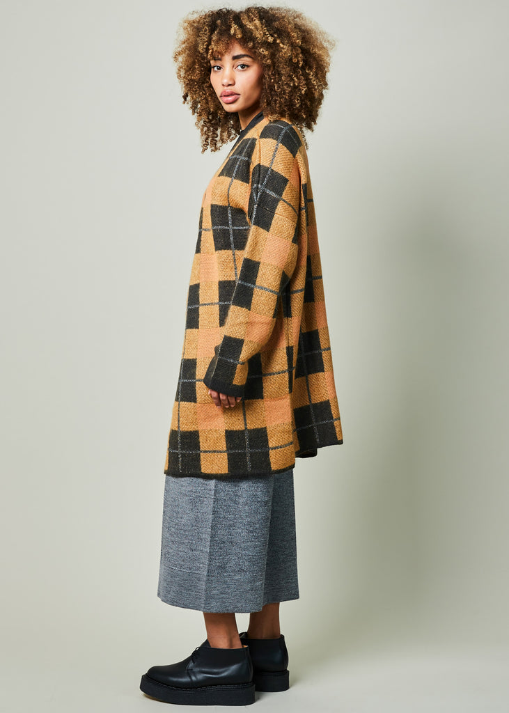 Mohair Open Robe