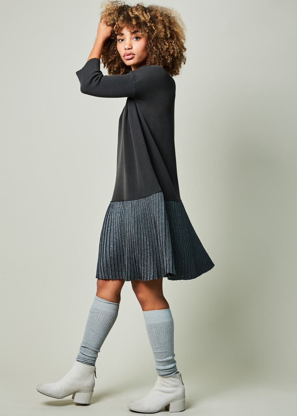 Bluebell Pleated Dress