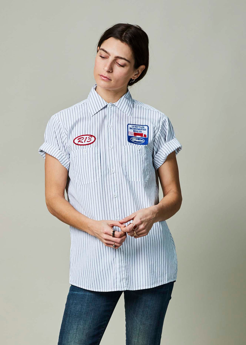 Pinstripe Mechanic Shirt