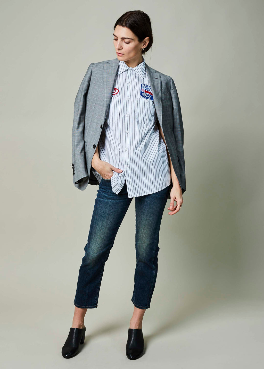 Glen Plaid Sport Blazer