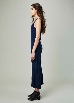 Double V Slip Dress