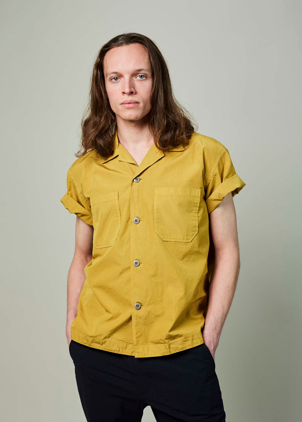 Japanese Cotton Bowling Shirt
