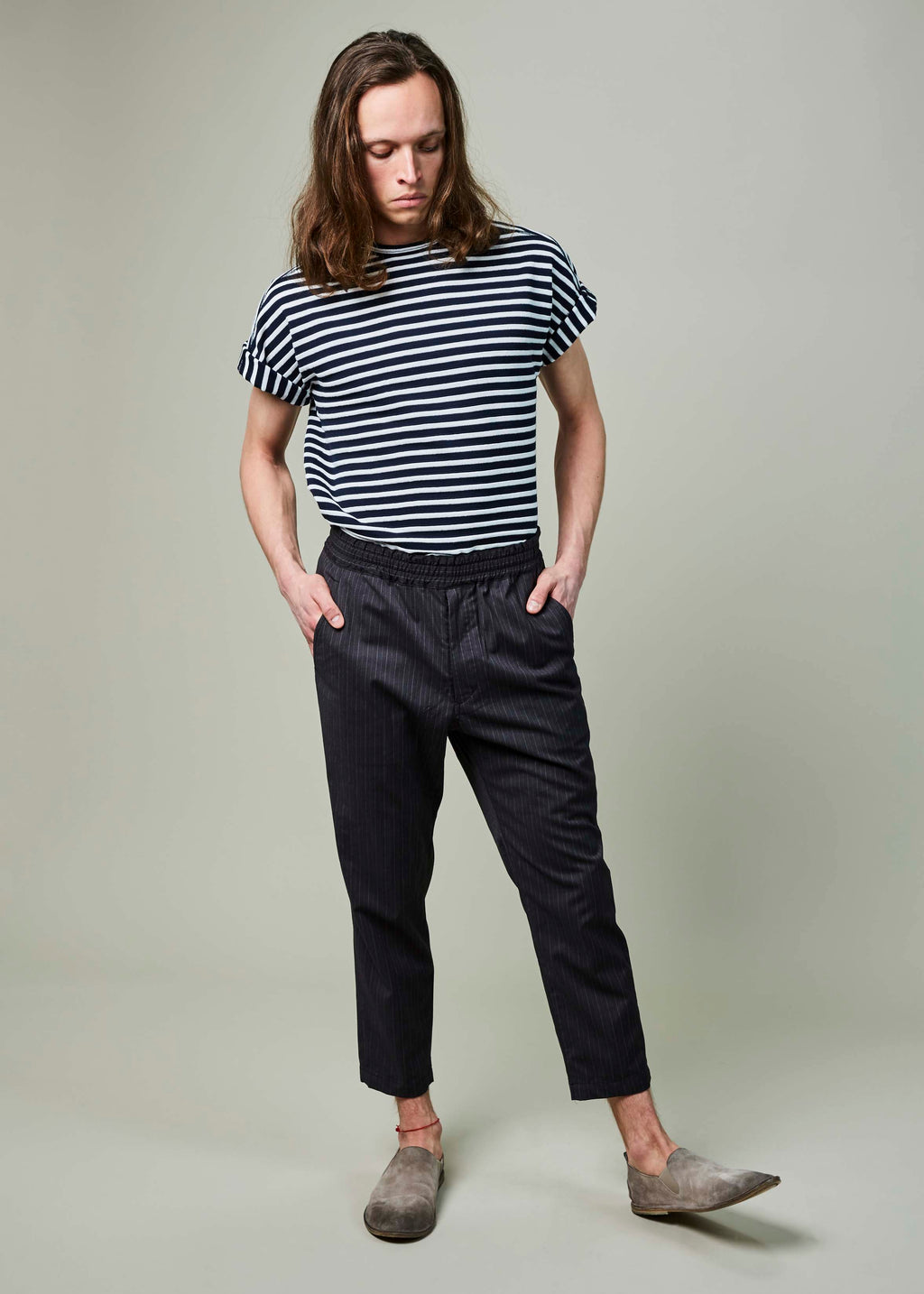 High-Water Easy Trouser