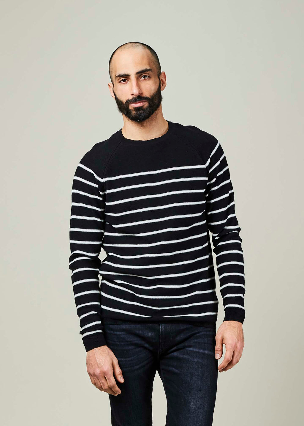 Iris Striped Sweater