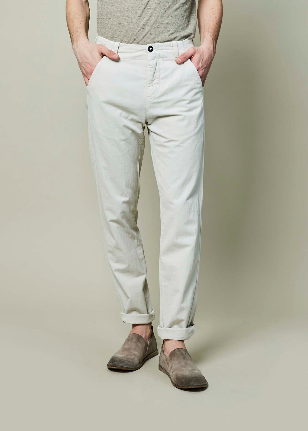 Hannes Roether Men's Cotton Track Pant