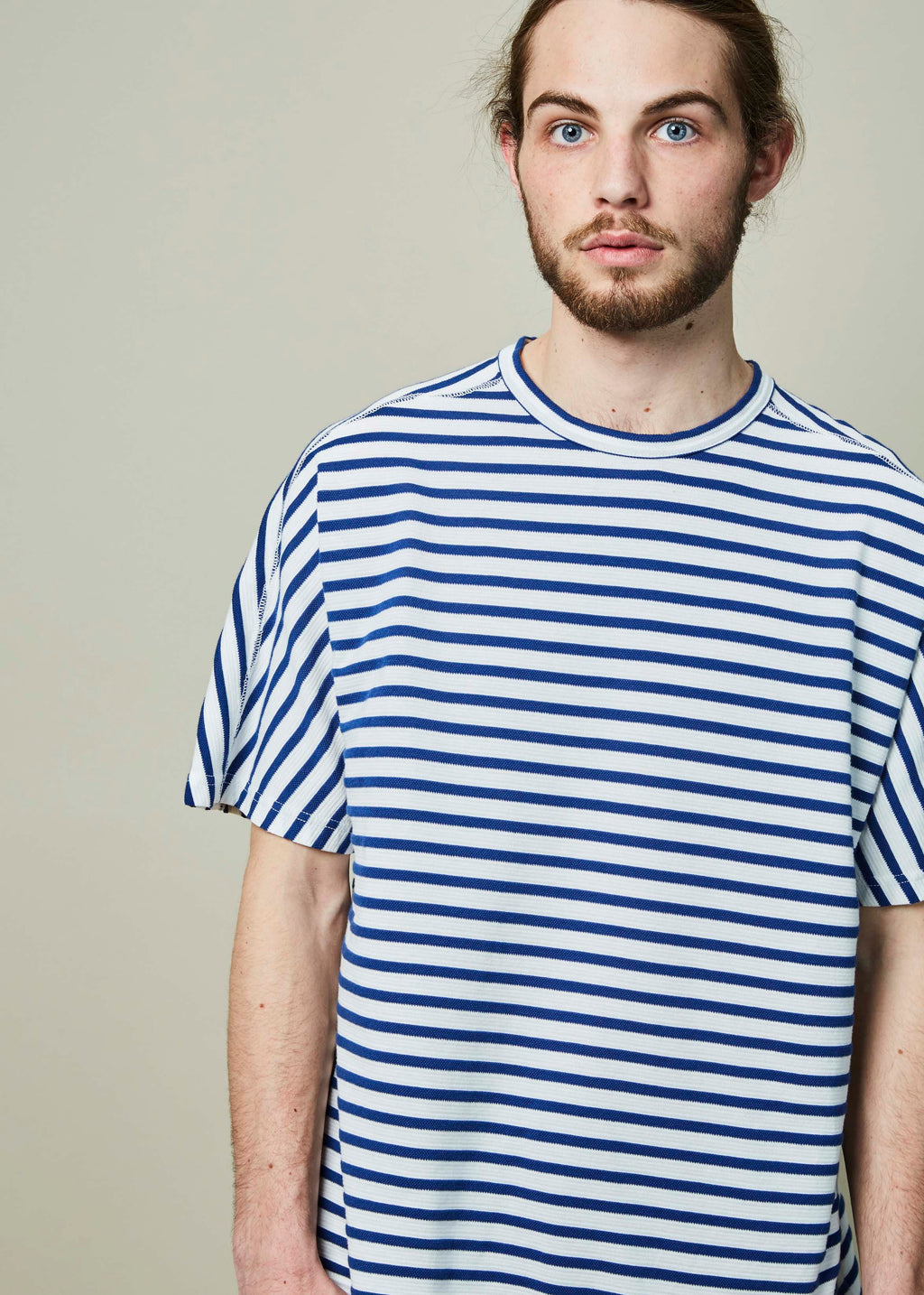 Boxy Striped Tee