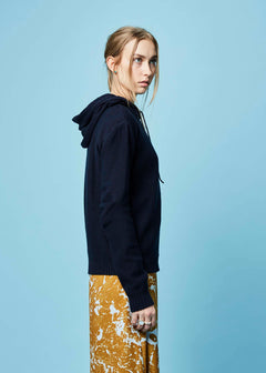 Charlie Hooded Knit Sweater
