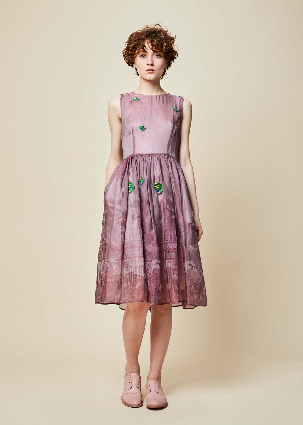 Silk Hagia Sophia Dress