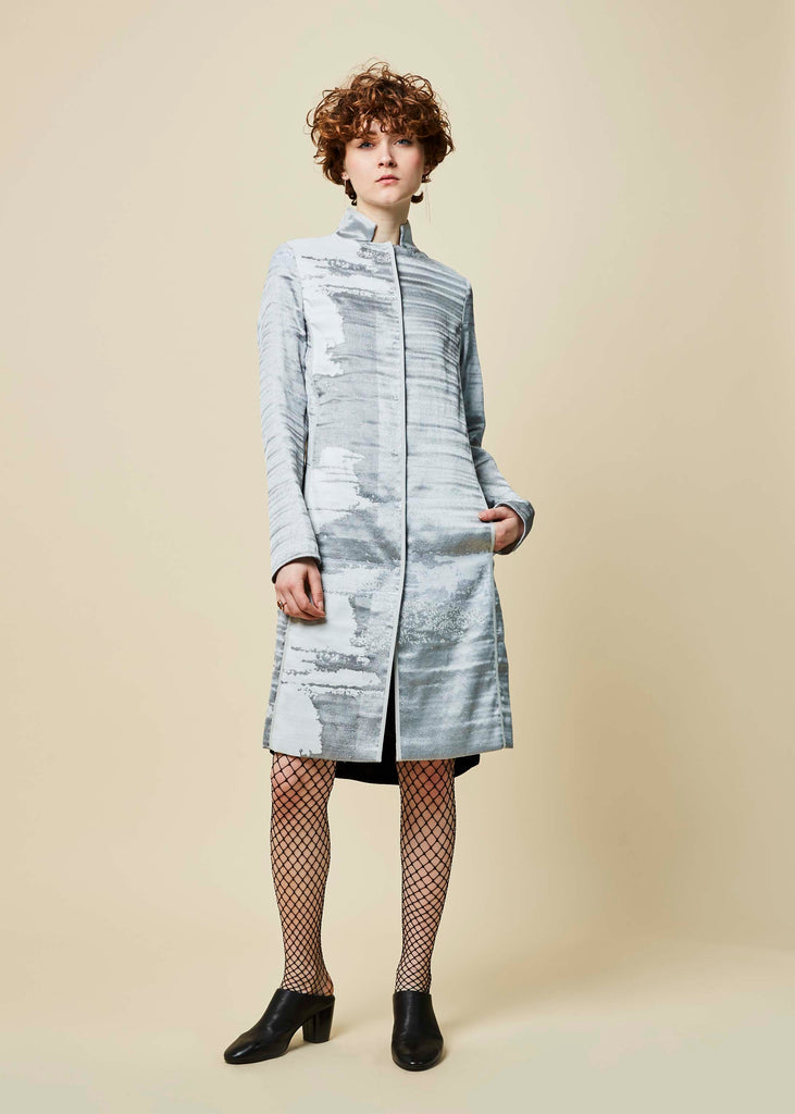 Golda Viscose Blend Coat