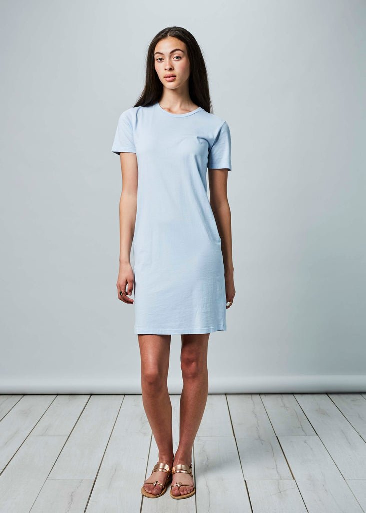 Crew Neck T-Shirt Dress