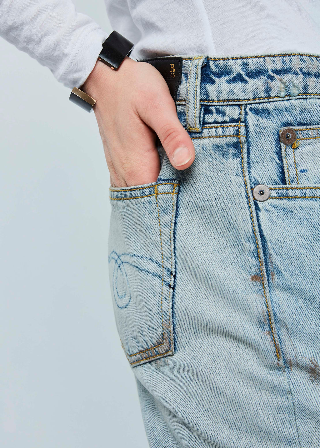 Kick Fit Cropped Jean