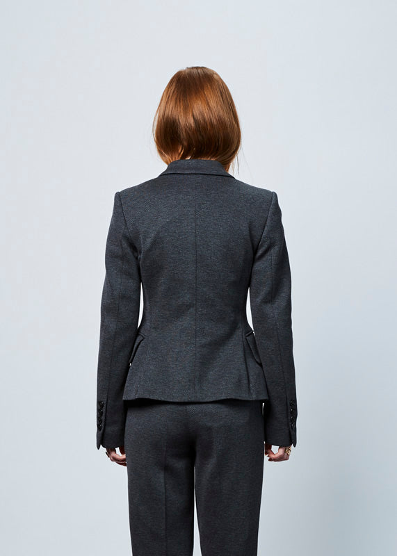 Structured Two-Button Blazer