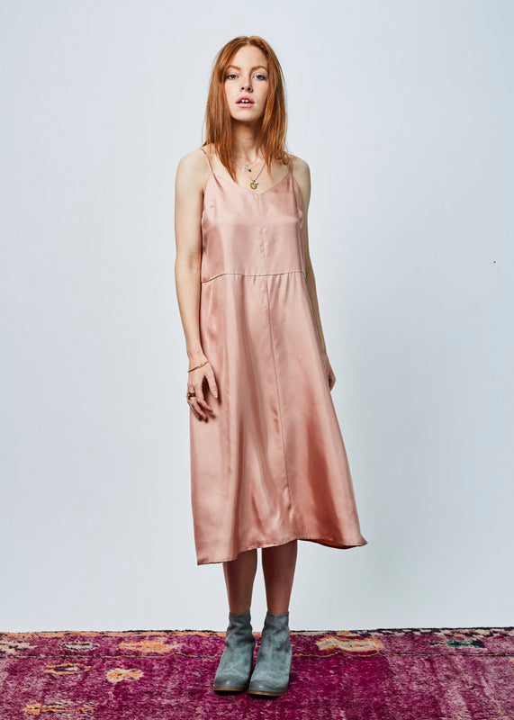 Rosa Silk Slip Dress