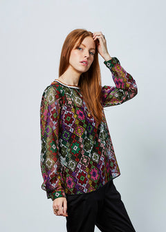 Needlepoint Top with Slip