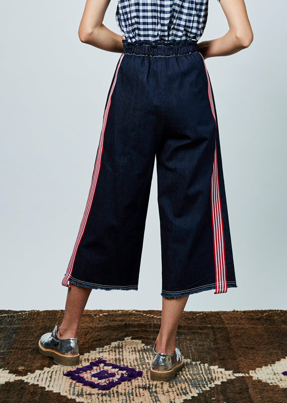 Pull-Up Denim Pant