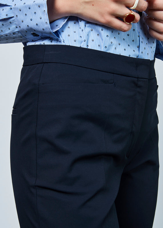 Tapered Crease Trouser