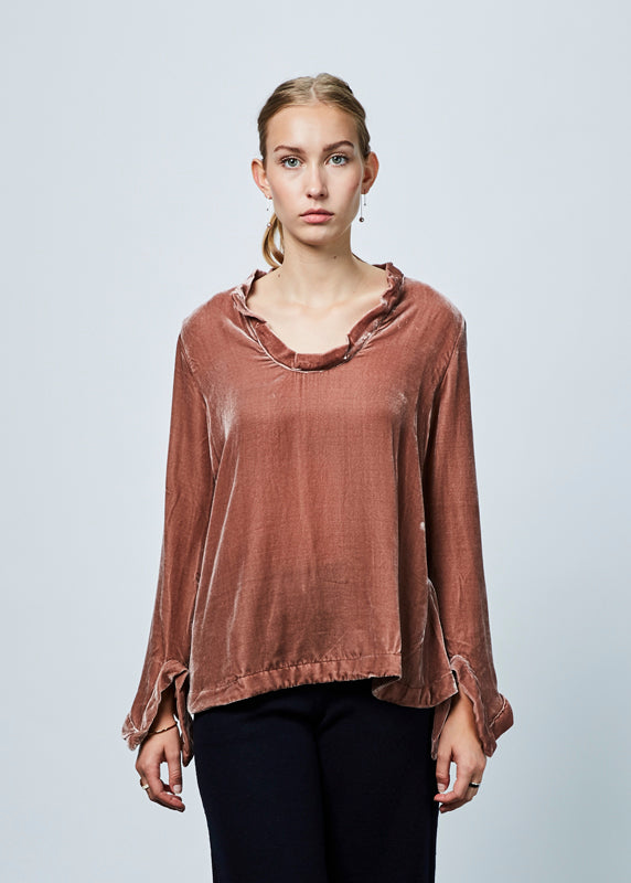 Mishy Velvet Blouse