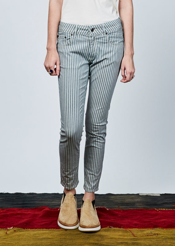 Mini Skinny Striped Pant
