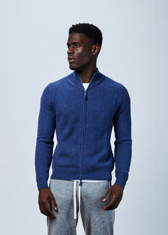Cashmere Zip Sweater