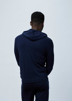 Wool and Cashmere Blend Hoodie