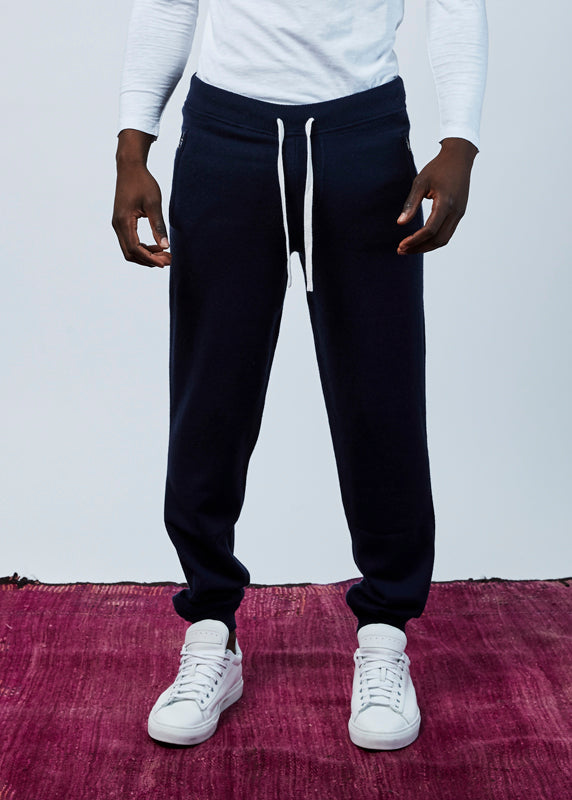 Wool and Cashmere Blend Jogger