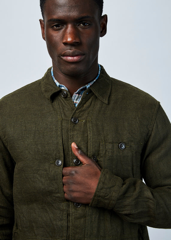Linen and Wool Winter Shirt