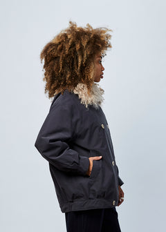 Yuki Faux Collar Jacket