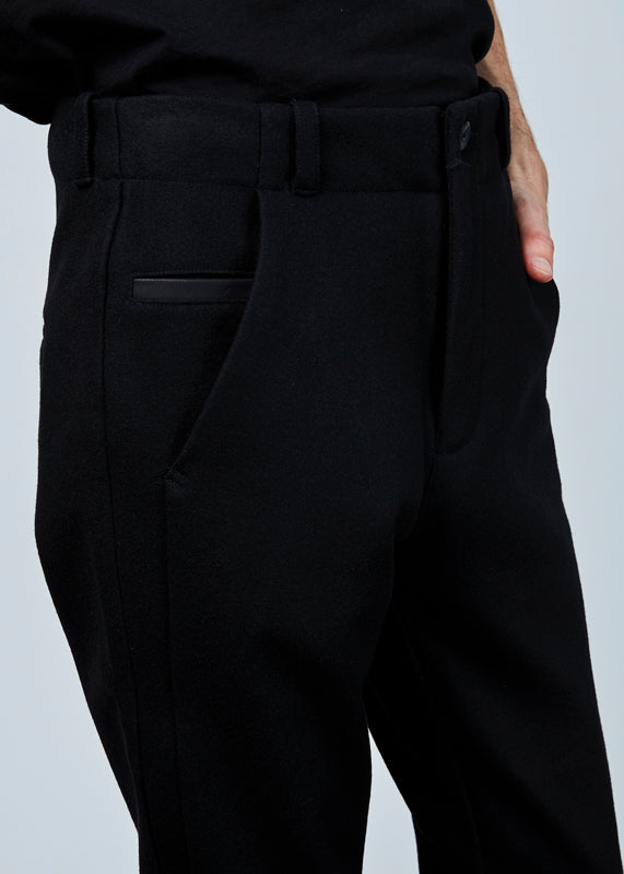 Hannes Roether Men's Draht Wool Trouser