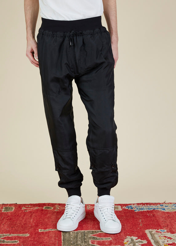 Katharine Hamnett London Andrew Padded Silk Pant
