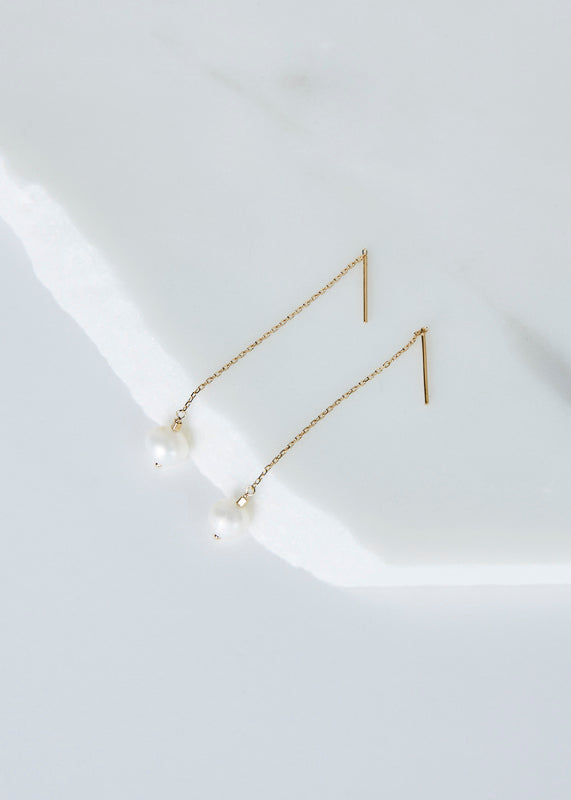 Leandra Threader Earrings